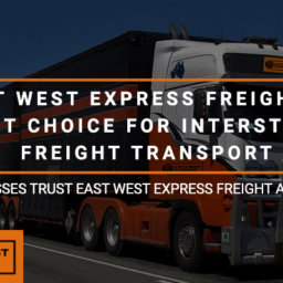 Best Choice for Interstate Freight Transport